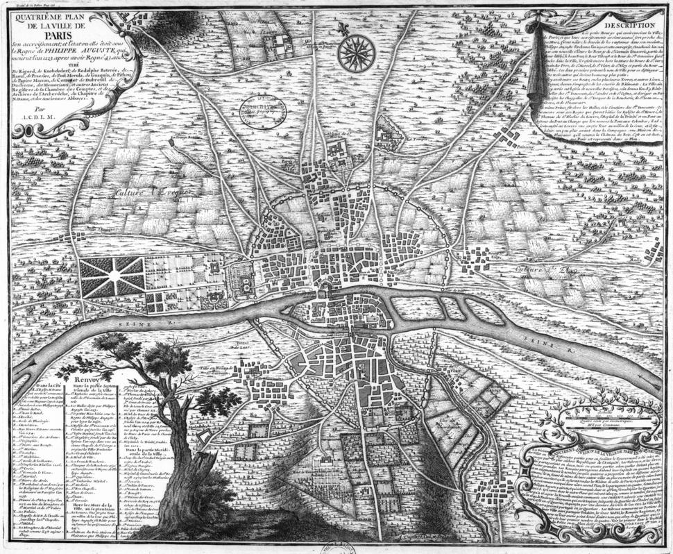 Plan de Paris 1223 BNF07710747