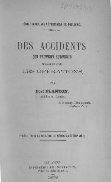 File:Planton - Des accidents qui peuvent survenir pendant et après les opérations.djvu