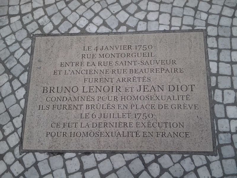 File:Plaque commémorative Jean DIOT Bruno LENOIR - Paris 2e - 67 rue Montorgueil.jpeg