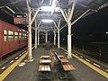 Platform of Nagatoshi Station at night 3.jpg