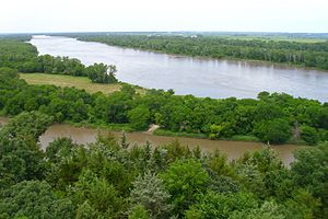 Platte River - Platte River at Mahoney State Park