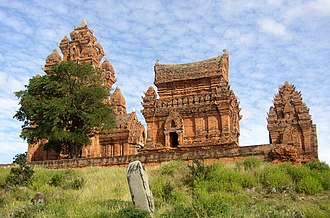 Ninh Thuận Province - Temples of Po Klong Garai, near Phan Rang; one of the best preserved shrines of the Cham, originally dedicated to the god Shiva.
