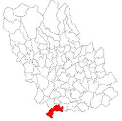 Vị trí của Poienarii Burchii