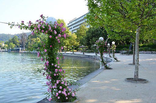 Poertschach Johannes-Brahms-Promenade mit Parkhotel 18062013 567