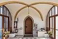 Poggersdorf Pfarrkirche hll. Georg und Jakobus d. Ä. Vorhalle Inneres 03012019 5758.jpg