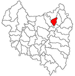 Location of Poian