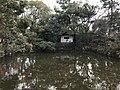 Pond near South Gate of Sumiyoshi Grand Shrine.jpg