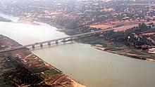 image du Pont de l'amitié de niamey