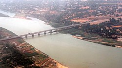 Pont de l'amitié Chine-Niger - Niamey from the Sky.jpg