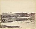 Pontoon Bridge, Across the Potomac, at Berlin, Maryland, November 1862 MET DP116712.jpg