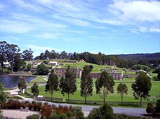 Port Arthur, Tasmania - Image: Port arthur outside