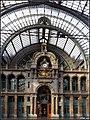 Portal zur Eingangshalle - Hauptbahnhof (Antwerpen 2014-03) - panoramio.jpg