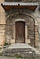 Porte en bois de la Villa des Sources à Miribel (Ain).jpg