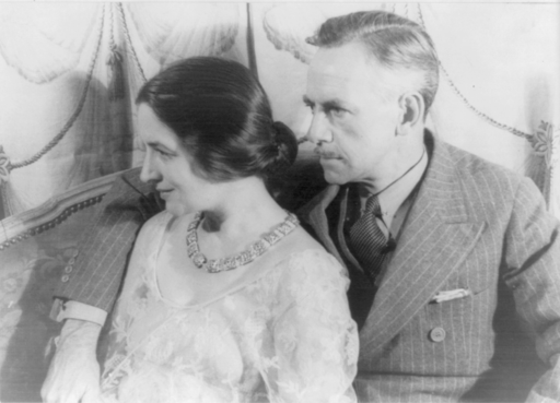 Portrait of Eugene O'Neill and Carlotta Monterey O'Neill 2