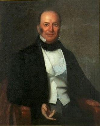 James Hopkins Adams - Image: Portrait of Governor James Hopkins Adams of South Carolina