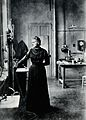 Portrait of Marie Curie (1867 - 1934), Polish chemist Wellcome V0026231.jpg