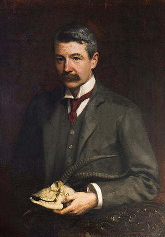 Oldfield Thomas - Painting by Walter Stoneman