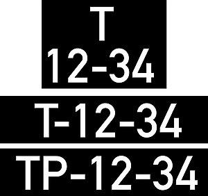 Vehicle registration plates of East Timor - Portuguese Timor vehicle registration plate format