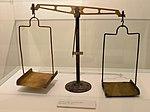 Post scale for letters (PTT museum, Belgrade, Serbia).jpg