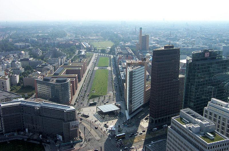 File:Potsdamer Platz with Site of Potsdamer Bahnhof 2005.jpg