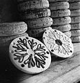Pottery in the Making- the work of J and G Meakin Pottery, Hanley, Stoke-on-trent, Staffordshire, England, 1942 D11465.jpg