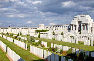 Pozières Memorial memorial located in Somme, in France