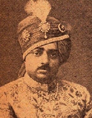 Pradyumansinhji Lakhajirajsinhji - Image: Pradyumansinhji Lakhajirajsinhji, 14th Thakore Saheb of Rajkot