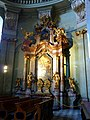 Prag, Kleinseite – Innenaufnahme der St.-Nikolaus-Kirche - Praha, Malá Strana - Interiér snímek kostela svatého Mikuláše - panoramio (1).jpg