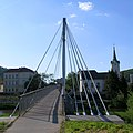 Praha, Radotin - lavka pres Berounku pro pesi a cyklisty.jpg