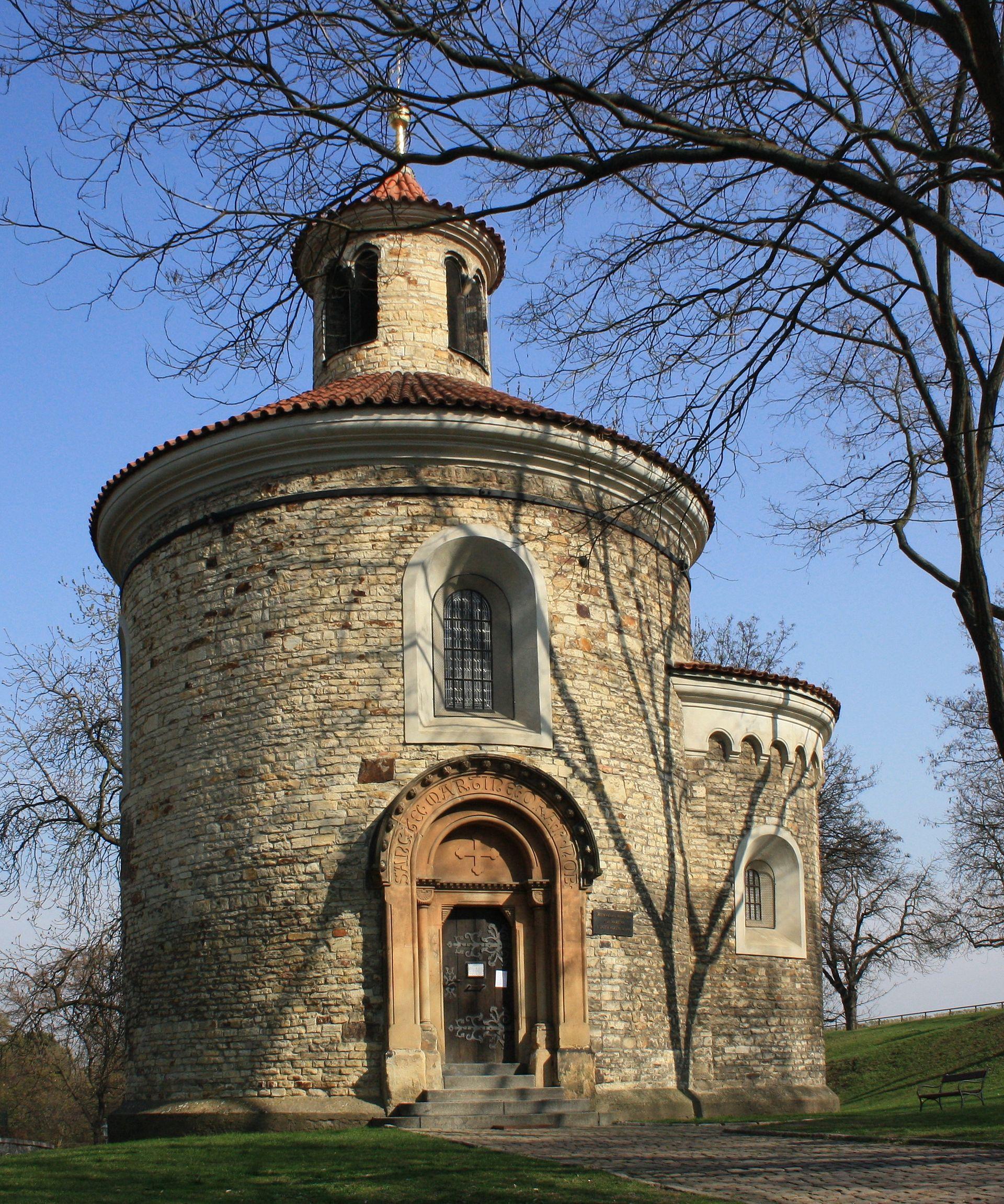 Vyšehradská Kapitula: Rotunda Svatého Martina (Vyšehrad)
