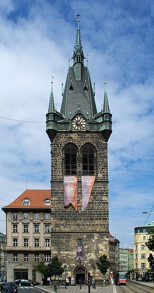 File:Praha-Nové Město, Jindřišská věž.jpg
