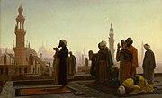 Prayer in Cairo 1865