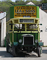 Preserved Southdown bus 125 (CD 5125) 1920 Leyland N Type Short Brothers (1928 rebody), Amberley Museum, 25 April 2011 (3).jpg