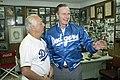 President George H. W. Bush and Tommy Lasorda.jpg