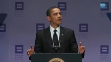 Datei:President Obama Tells the Story of PFLAG, 2009 HRC Annual Dinner.webm