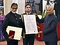 President Ramnath Kovind conferring Dada Saheb Phalke award on Shri Amitabh Bachchan1.jpg
