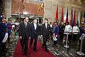 Presidente de Colombia asistió a la Posesión Presidencial de Rafael Correa (8818256710).jpg