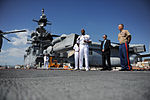 Press conference aboard future USS America during visit to Brazil 140806-N-FR671-258.jpg