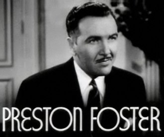 Preston Foster - Preston Foster in First Lady (1937)