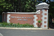 Pretoria High School for Girls Park Street Pretoria 001.jpg