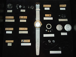 Mechanical watch - Mechanical wrist watch disassembled