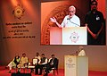 Prime Minister Narendra Modi speaking at the inaugural session of the RBI Conference on Financial Inclusion.jpg
