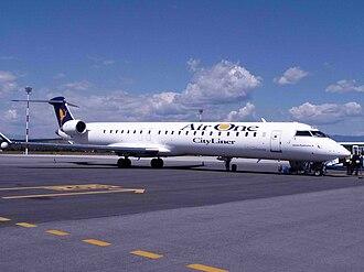 Alitalia CityLiner - A former Air One CityLiner CRJ-900