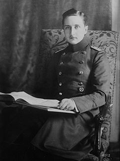 Prince August Wilhelm of Prussia German prince