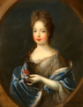 Princess Marie Adélaïde of Savoy following her marriage by Pierre Gobert.png