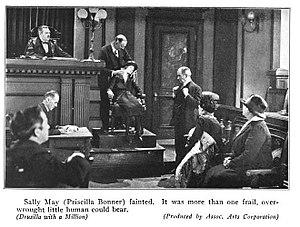 Priscilla Bonner - Priscilla Bonner, scene from Drusilla with a Million (1925)