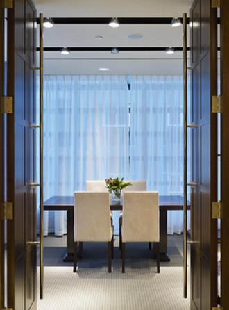 Harry Rosen Inc. - Private shopping room on the 4th floor of the Harry Rosen flagship store on 82 Bloor Street West
