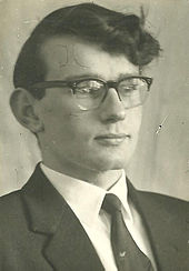 Professor Michael Swanton as Student chairman.