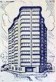 Projet immeuble quartier des Nations, par Léon van Dievoet, 1936.jpg