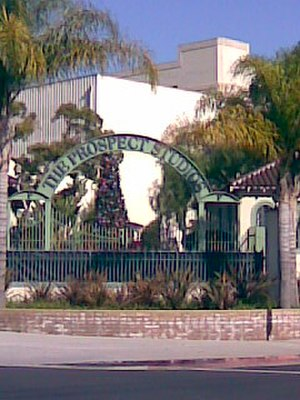 The Prospect Studios - Front gate of the studio facility